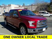CARFAX One-Owner. Clean CARFAX. 2015 Ford F-150 Lariat