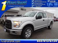 CARFAX One-Owner. Certified. Gray 2015 Ford F-150 XL