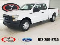 CARFAX One-Owner. Clean CARFAX. White 2015 Ford F-150