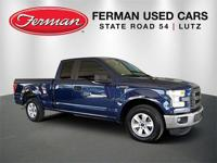 New Price! CARFAX One-Owner. Blue 2015 Ford F-150 XL