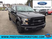 2015 Ford F-150 3.5L V6 Flex Fuel Ti-VCT FORD CERTIFIED
