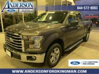 Certified. Caribou Metallic 2015 Ford F-150 XLT RWD
