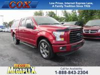 This 2015 Ford F-150 XLT in is well equipped with: