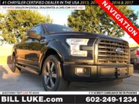 Options:  2015 Ford F-150 Xlt|Black|All Performed