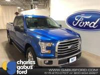 Recent Arrival! Certified. 2015 Ford F-150 XLT Blue