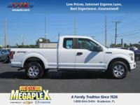 New Price! This 2015 Ford F-150 XLT in White is well