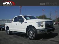 2015 F-150, 4,322 miles, options include: a