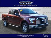 This 2015 Ford F-150 XLT is complete with top-features