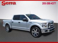 Ingot Silver Metallic 2015 Ford F-150 XLT 4WD 6-Speed