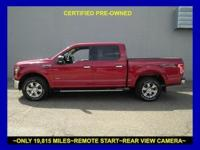 This vigorous 2015 Ford F-150 XLT seeks the right