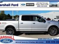 This New Ingot Silver Metallic 2015 Ford F-150 is on