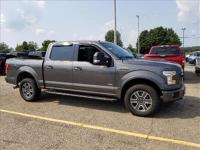 Certified.Magnetic Metallic 2015 Ford F-150 XLT 4WD