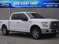 Oxford White 2015 Ford F-150 XLT 4WD 6-Speed Automatic
