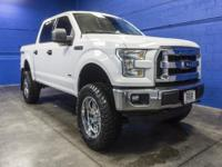 One Owner Clean Carfax 4x4 ECOBOOST Truck with a Brand