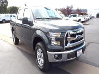 Take command of the road in the 2015 Ford F-150! It