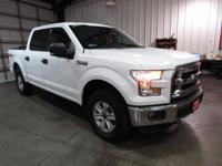 2015 Ford F-150 XLT White 2015 Ford F-150 XLT In White,