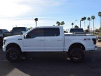 This 2015 Ford F-150 4dr 4WD SuperCrew 145 XLT features