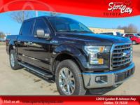 Carfax One Owner, F-150 XLT, 2.7L V6 EcoBoost, 4WD,