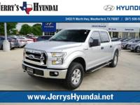 This outstanding example of a 2015 Ford F-150 XLT CREW