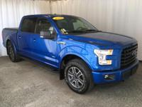 This 2015 Ford F-150 XLT comes equipped with heated