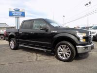 2015 Ford F-150 SuperCrew Cab XLT 4 Wheel Drive With
