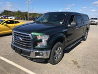 CARFAX One-Owner. Certified. Green 2015 Ford F-150 XLT