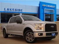 CARFAX One-Owner. Silver 2015 Ford F-150 RWD 6-Speed