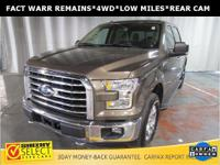 CARFAX One-Owner. Certified. Brown 2015 Ford F-150 XLT