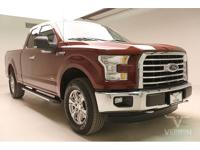 This 2015 Ford F-150 XLT Extended Cab 4x4 with only
