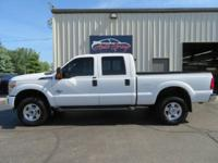 Stronger than ever for 2015 our Ford F250 XLT Crew Cab