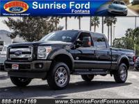 Experience the powerful presence of our 2015 Ford Super