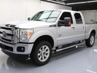 This awesome 2015 Ford F-250 4x4 Diesel comes loaded