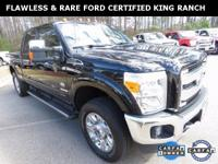 **WOW! FLAWLESS FORD CERTIFIED 2015 F-250 4x4 KING