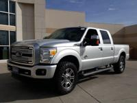 2015 Ford F-250SD Platinum Ingot Silver Metallic.