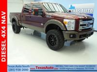 KING RANCH-DIESEL-4X4-LIFTED-NAV-REAR