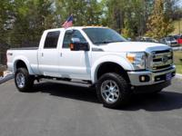 2015 Ford F-250 Lariat SuperCrew Cab 4 Wheel Drive 6.2L