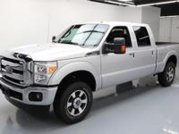 2015 Ford F-250 with 6.2L V8 Engine,Leather Seats,Power