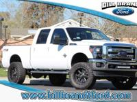 Options:  2015 Ford Super Duty F-250 Lariat 4D Crew