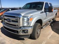 This 2015 Ford Super Duty F-250 SRW Lariat is proudly