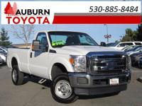 4WD, BED LINER, ONE OWNER! This 2015 Ford F250 Super