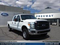 Oxford White 2015 Ford F-250SD XL 4WD TorqShift 6-Speed