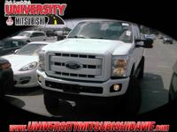 **HAGGLE FREE PRICING** White 2015 Ford F-250SD XLT4WD,