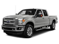 Recent Arrival! Clean CARFAX. 2015 Ford F-250SD Slate