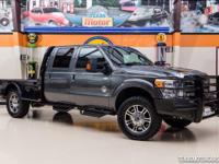 2015 Ford F-350 Lariat Flatbed  One owner, well