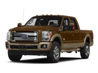 Look at this 2015 Ford F-350 King Ranch. Its Automatic