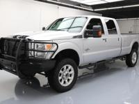 This awesome 2015 Ford F-350 4x4 Diesel comes loaded