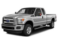 2015 Ford F-350SD and 2 Years of Maintenance Included.