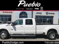 CARFAX 1 OWNER. 4D Crew Cab, Power Stroke 6.7L V8 DI
