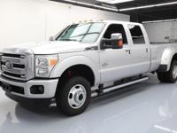 2015 Ford F-350 with 6.7L Turbocharged Diesel V8 DI