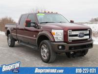 NAVIGATION, LONG BED, MOONROOF, CLEAN CARFAX, 6.7L